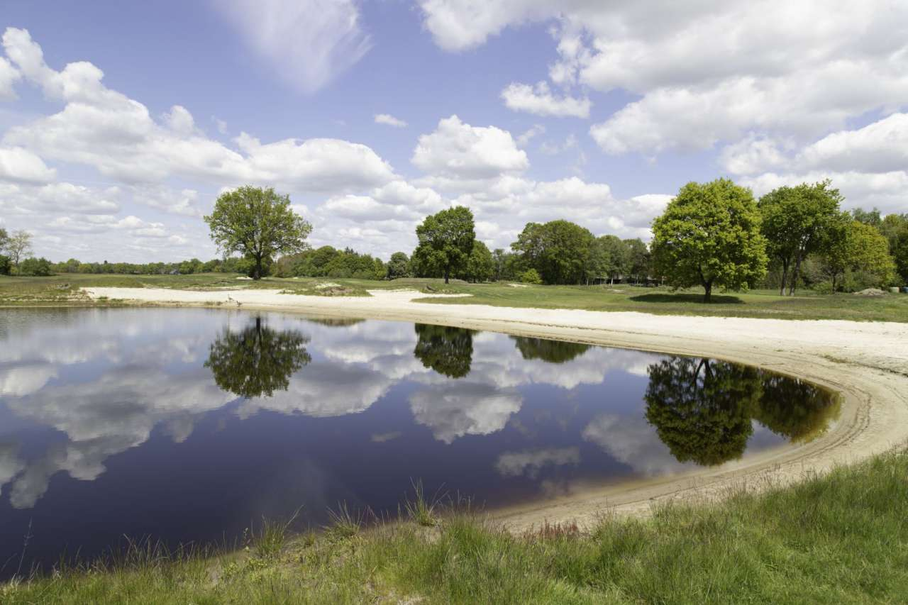 See auf dem Golfplatz Lilienthal