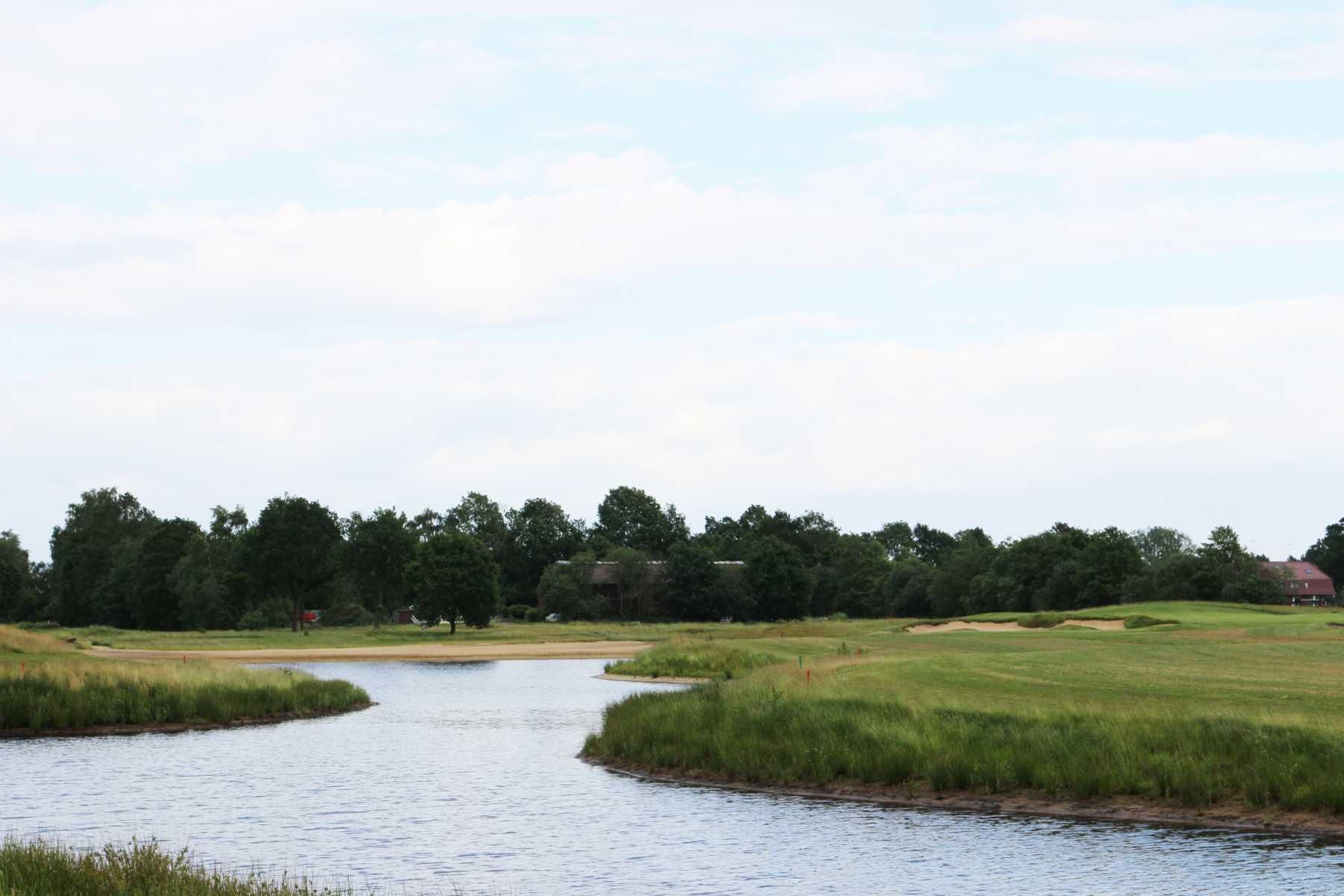 Fluss am Golfplatz Lilienthal