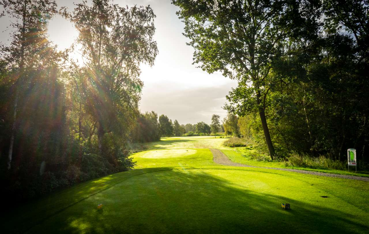 Golfplatz Lilienthal Sonnenaufgang