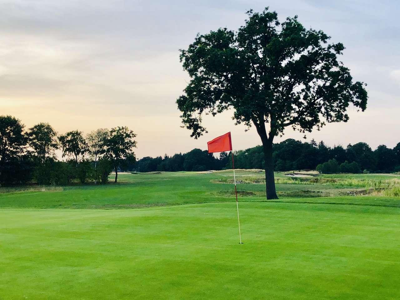 Golfplatz in Lilienthal - Fahne