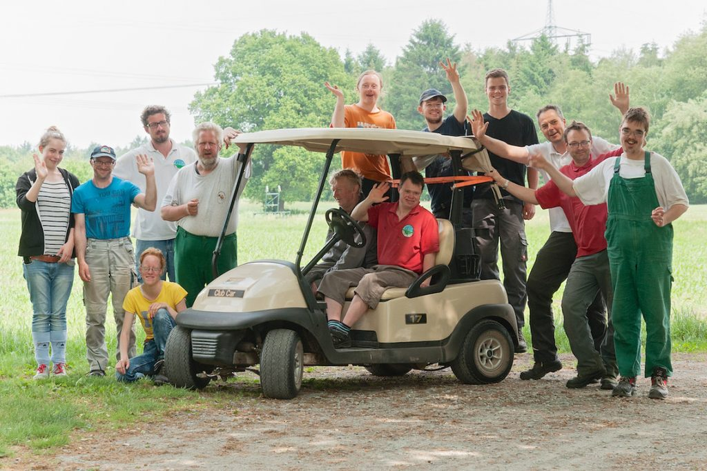 Integratives Greenkeeping Team